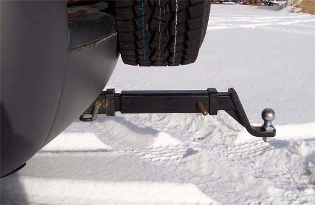 Details about  /Trailer Hitch Extension Receiver Tube Extenders 7 inches Length GTW 3500 lbs